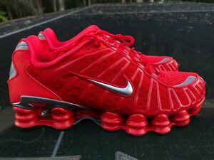 New Nike Shox TL Speed Red Size 11 (BV1127-600)