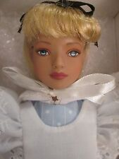 """Classic Alice Tonner Doll 12"""" in Wonderland 2005 Bangs Have Been Cut No Stand"""