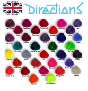 La Riche Directions Hair Dye Semi-Permanent Hair Toner Human Hair All Colours