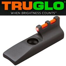 TRUGLO RED Fiber Optic Front Sight RUGER MK 1 2 3 4 IV 22/45 Browning Buck Mark