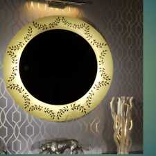 Illuminated LED Mirror With Touch Sensor