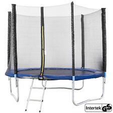 Trampolino elastico con Rete di Sicurezza 306 cm 10 ft Tappeto Elastico