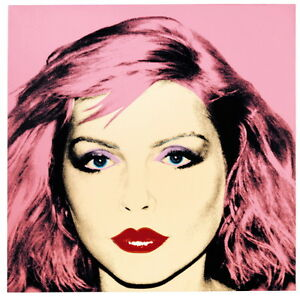 Andy Warhol Debbie Harry Giclee Canvas Print Paintings Poster Reproduction Copy