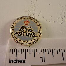 1987 Aloha Council BSA Pin - Makahiki - Back to the Future with Scouting