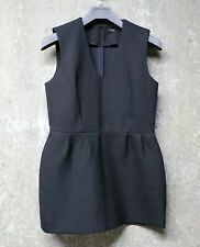 COS Elegant, Tailored Sleeveless Vest/ Top in Black, Structured Fabric