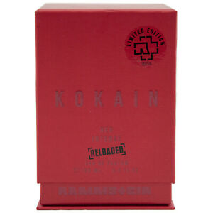 Rammstein KOKAIN RED INTENSE RELOADED 100ml EdP Eau de Parfum Limited Edition