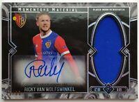 2018 Topps UEFA Museum Ricky Van Wolfswinkel 75/99 Autograph Jersey Card