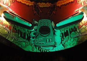 Scared Stiff Pinball Flipper Light Mod GREEN