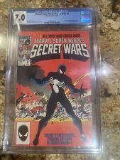 Marvel Super Heroes Secret Wars #8 CGC 7.0 WHITE Pages Spider-Man