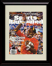 Framed Deshaun Watson Sports Illustrated Autograph Print - Clemson Tigers