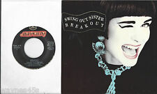 SWING OUT SISTER * 45 * Breakout * 1986 * UNPLAYED MINT USA ORIGINAL w/ PS Box25