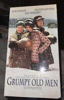 Grumpy Old Men (VHS 1994 ) New Sealed - Jack Lemmon Ann Margret Walter Mattham