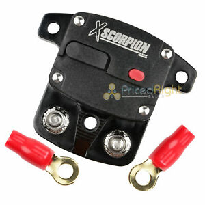 12V 80 Amp Circuit Breaker Marine Rated Power With Manual Reset Car Stereo Audio