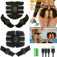 Smart EMS Hip Trainer Electric Abdominal Muscle Stimulator Buttocks ABS