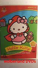 Hello Kitty - Tells Fairytales [ DVD ] Region 4, FREE Next Day Post