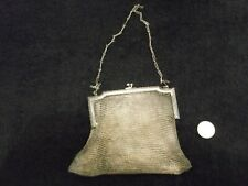Vintage Mesh Small Change Purse 30's, Unusual Tee Shirt Shape