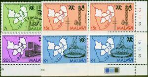 Malawi 1985 5th Anniversary SADCC Set of 4 SG724-727 V.F MNH Control Corner M...
