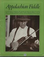 Appalachian Fiddle by Miles Krassen 1973 Music Book Illustrated Southern Music