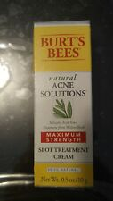 BURT'S BEES - Natural Acne Solutions Maximum Strength Spot Treatment Cream