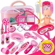 Pretend Doctor Play Kit Gift for Kids - Girls, Boys Medical Dr Role Playing,