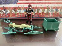 Zartan Swamp Skier Vehicle Complete 1984 ARAH GI Joe Cobra Vintage W/ ZARTAN