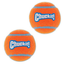 New Chuckit!-Tennis Balls-Rubber Floats Interactive Dog Toys fit Launchers