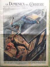 La Domenica del Corriere 16 Ottobre 1949 Inondazione Napoli Volterra Atomo Roma