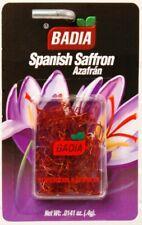 BADIA - Pure selected Spanish Saffron Net Wt. (.4g) - Azafran - Exp. Dec 2021