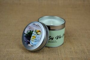 WHOLESALE CANDLES X 6 - GIN AND TONIC 50% DISCOUNT  - 225ML TIN
