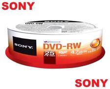 DVD-RW Sony per l'archiviazione di dati informatici