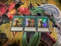 YUGIOH: 3x El Shaddoll Fusion DUPO-EN096 Ultra Rare 1st Edition Near Mint FAST