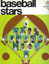 1969 photostamp album magazine baseball, American League no stamps GOOD