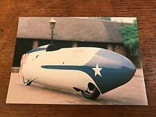 "Vintage 1955 Triumph ""Record Breaker"" National Motorcycle Museum Postcard (B)"