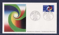 enveloppe  NF   espace Européen  SAR LOR LUX   1997