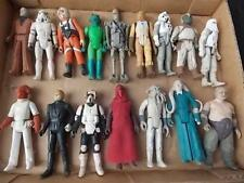 Lot of 16 Vintage Star Wars Action Figures Assorted 1970s-80s