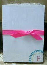 New sealed Hallmark Letter F monogram initial note pad 150 sheets 5.5 x 4 paper