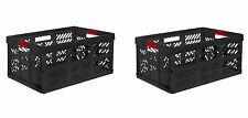 2 x Pro Foldable box TUV certified 45 L bis 50 kg graphite Folding Crate