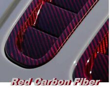 "19x79"" Water Transfer Printing Hydrographic film RED CARBON FIBER high quality"