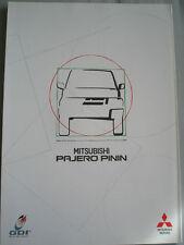 Mitsubishi Pajero Pinin brochure c2002 Italian text