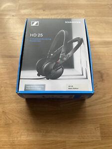 Sennheiser HD 25 II On the Ear Headphones - Black
