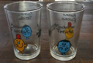 MR MEN: MONSIEUR MADAME By Roger Hargreaves - Collectible Glasses