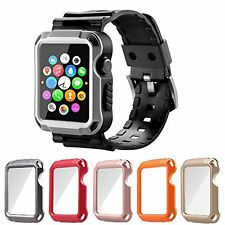 Apple Watch Case Series 2 Series 1 Built-in Matte Screen Protector 42 mm 5-in-1