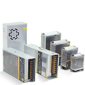 AC110/220V To DC 24V/12V/5V Switch Power Supply Adapter 4 LED Strip 3D PSU CCTV