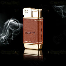 USA STOCK !!! HOT Mini Leather Metal Tobacco Smoking Pipe Cigarette lighter