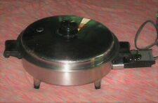 "New ListingSaladmaster 11"" 7815E Oil Core Electric Skillet Works Great"