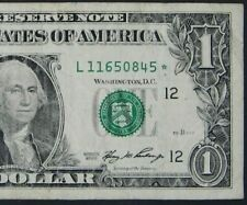 "2006 $1 (ONE DOLLAR) – STAR NOTE – CURRENCY, BILL – ""L"""