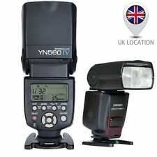 YONGNUO YN-560 IV Wrieless Flash Speedlite for Canon Nikon Sony DSLR RF-605 UK