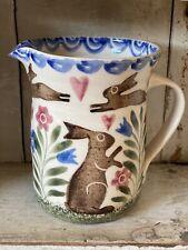 More details for bell pottery spongeware jug