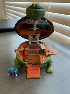 1995 TMNT Mini Mutants Playset Leonardo Sewer Teenage Mutant Ninja Turtles