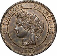 O292 Rare 10 Centimes Cérès 1894 A Paris SPLENDIDE +++ > Faire offre